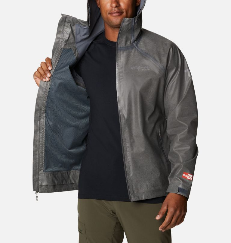 OutDry Ex™ Reign™ Jacket | 030 | S Men's OutDry™ Ex Reign Jacket, Charcoal Heather, a3