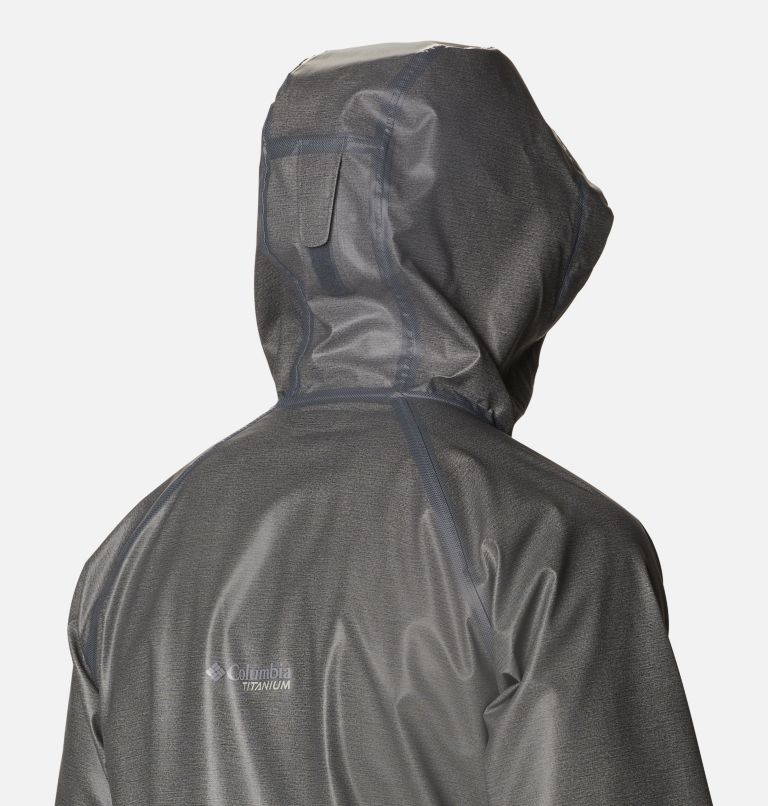 OutDry Ex™ Reign™ Jacket | 030 | XL Men's OutDry™ Ex Reign Jacket, Charcoal Heather, a4