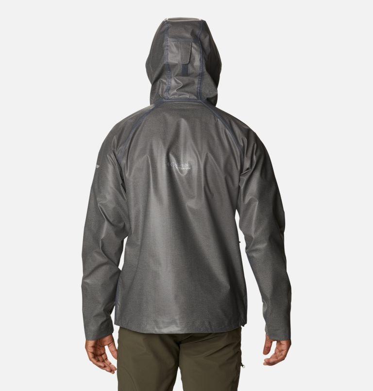 OutDry Ex™ Reign™ Jacket | 030 | S Men's OutDry™ Ex Reign Jacket, Charcoal Heather, back