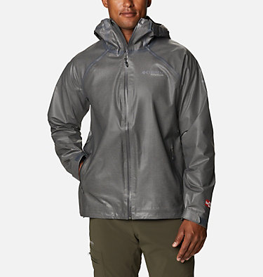 Men's OutDry™ Ex Reign Jacket OutDry Ex™ Reign™ Jacket | 386 | S, Charcoal Heather, front