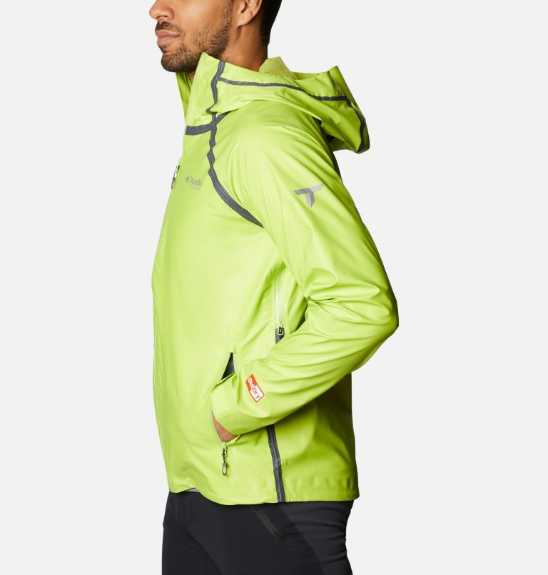OutDry Ex™ Reign™ Jacket | 386 | M Men's OutDry™ Ex Reign Jacket, Bright Chartreuse Heather, a1