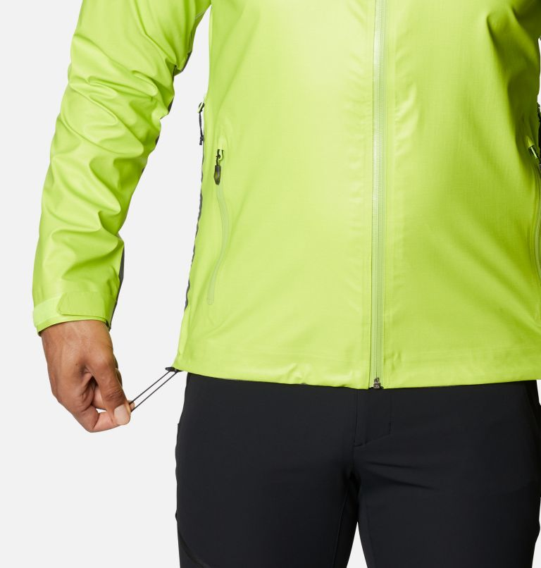 OutDry Ex™ Reign™ Jacket | 386 | M Men's OutDry™ Ex Reign Jacket, Bright Chartreuse Heather, a4