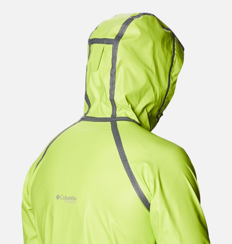 OutDry Ex™ Reign™ Jacket | 386 | M Men's OutDry™ Ex Reign Jacket, Bright Chartreuse Heather, a5