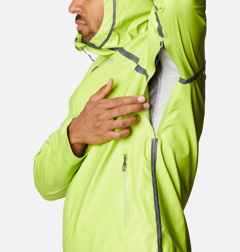 OutDry Ex™ Reign™ Jacket | 386 | M Men's OutDry™ Ex Reign Jacket, Bright Chartreuse Heather, a6