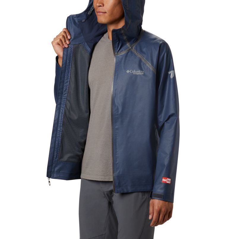 OutDry Ex™ Reign™ Jacket | 464 | L Men's OutDry™ Ex Reign Jacket, Collegiate Navy Heather, a3