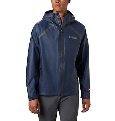 Men's OutDry™ Ex Reign Jacket OutDry Ex™ Reign™ Jacket | 386 | S, Collegiate Navy Heather, front