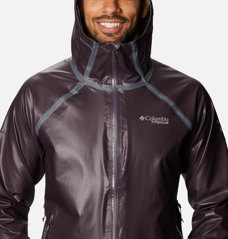 OutDry Ex™ Reign™ Jacket | 511 | XL Men's OutDry™ Ex Reign Jacket, Dark Purple Heather, a2
