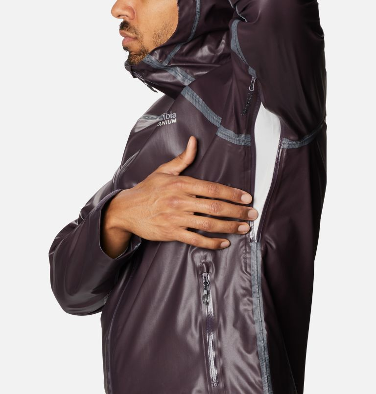 OutDry Ex™ Reign™ Jacket | 511 | XL Men's OutDry™ Ex Reign Jacket, Dark Purple Heather, a5