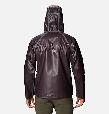 Men's OutDry™ Ex Reign Jacket OutDry Ex™ Reign™ Jacket | 386 | S, Dark Purple Heather, back