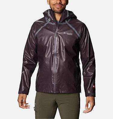 Men's OutDry™ Ex Reign Jacket OutDry Ex™ Reign™ Jacket | 386 | S, Dark Purple Heather, front