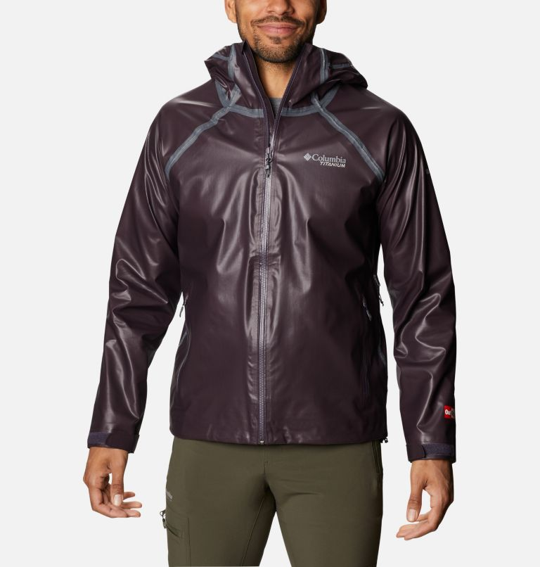 OutDry Ex™ Reign™ Jacket | 511 | XL Men's OutDry™ Ex Reign Jacket, Dark Purple Heather, front