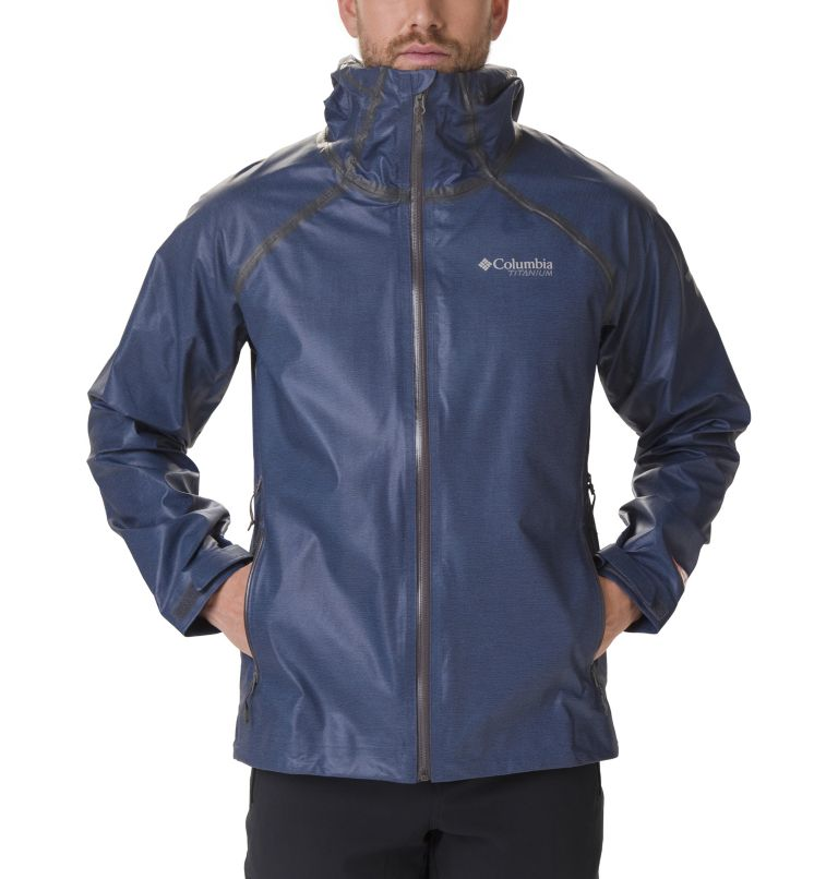 OutDry Ex™ Reign™ Jacket | 464 | XXL Veste OutDry Ex™ Reign™ Homme, Collegiate Navy Heather, a1