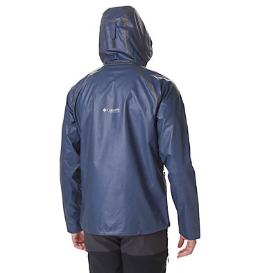 Men's OutDry Ex™ Reign™ Jacket OutDry Ex™ Reign™ Jacket | 030 | L, Collegiate Navy Heather, back