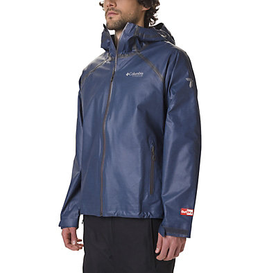Men's OutDry Ex™ Reign™ Jacket OutDry Ex™ Reign™ Jacket | 030 | L, Collegiate Navy Heather, front
