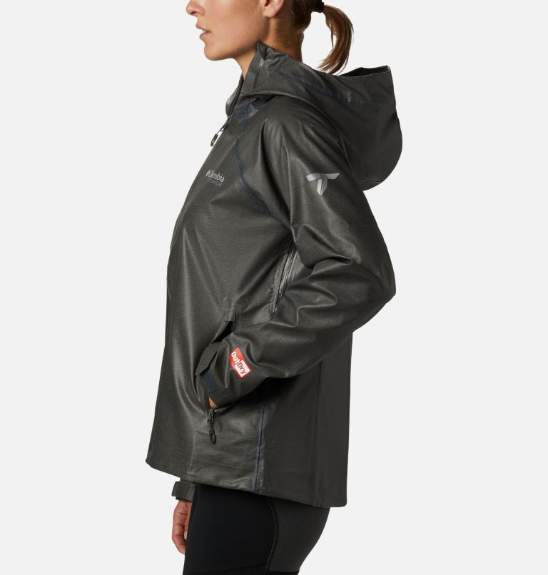 OutDry Ex™ Reign™ Jacket | 030 | S Women's OutDry Ex™ Reign™ Jacket, Charcoal Heather, a1