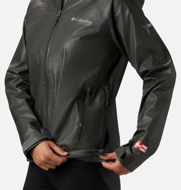 OutDry Ex™ Reign™ Jacket | 030 | S Women's OutDry Ex™ Reign™ Jacket, Charcoal Heather, a2