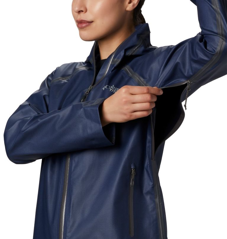 OutDry Ex™ Reign™ Jacket | 466 | XS Women's OutDry Ex™ Reign™ Jacket, Nocturnal Heather, a2