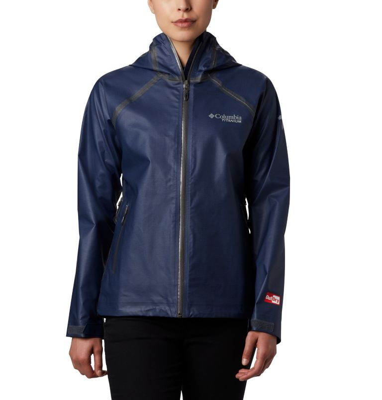 OutDry Ex™ Reign™ Jacket | 466 | XS Women's OutDry Ex™ Reign™ Jacket, Nocturnal Heather, front