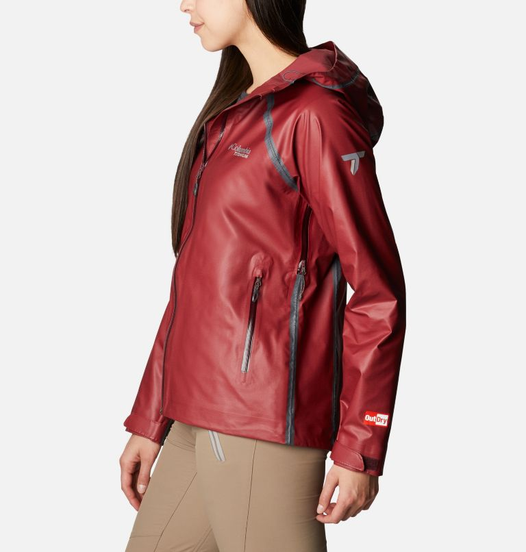OutDry Ex™ Reign™ Jacket | 671 | M Women's OutDry Ex™ Reign™ Jacket, Malbec Heather, a1