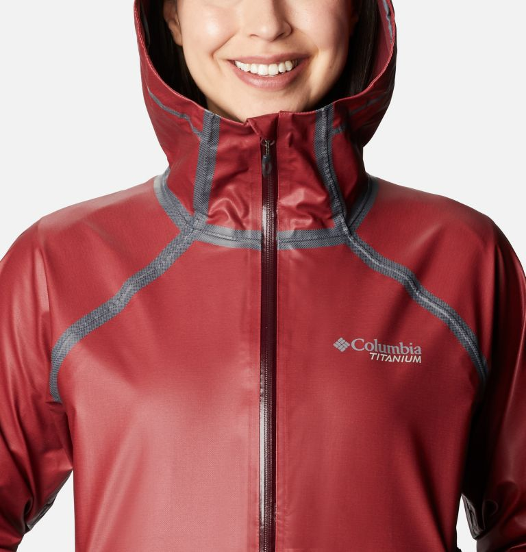 OutDry Ex™ Reign™ Jacket | 671 | M Women's OutDry Ex™ Reign™ Jacket, Malbec Heather, a2