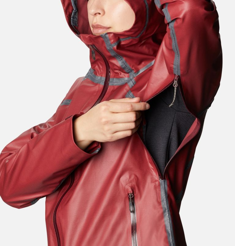 OutDry Ex™ Reign™ Jacket | 671 | XS Women's OutDry Ex™ Reign™ Jacket, Malbec Heather, a4