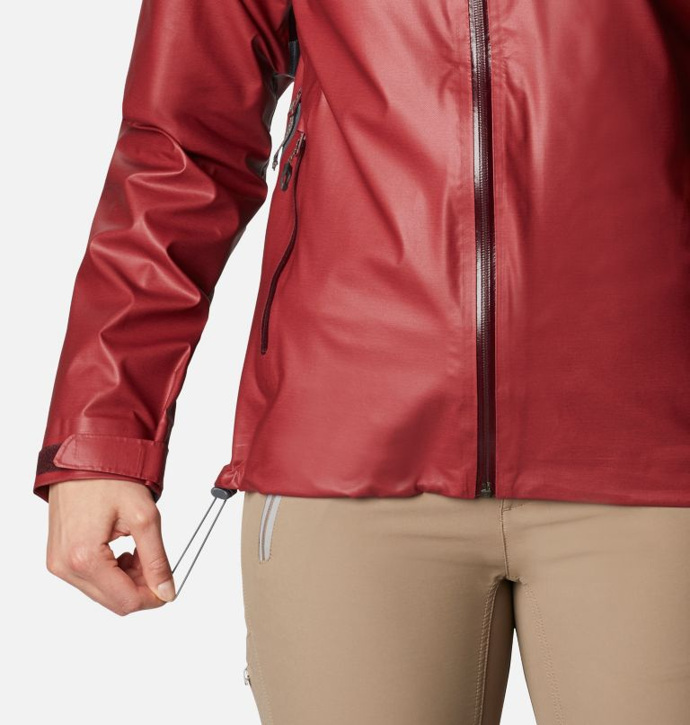 OutDry Ex™ Reign™ Jacket | 671 | XS Women's OutDry Ex™ Reign™ Jacket, Malbec Heather, a6