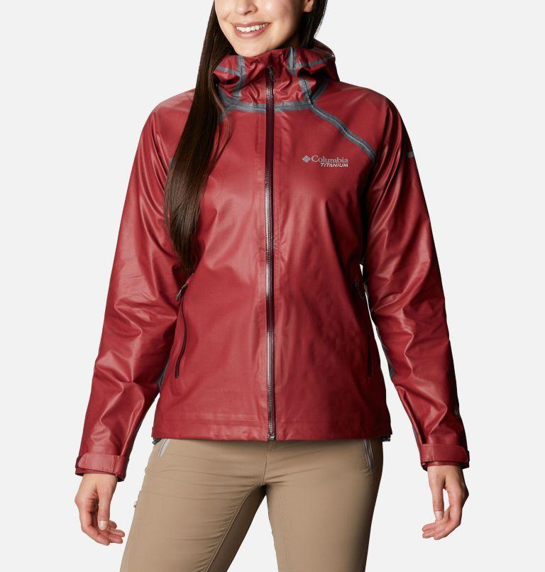 OutDry Ex™ Reign™ Jacket | 671 | L Women's OutDry™ Ex Reign™ Jacket, Malbec Heather, front