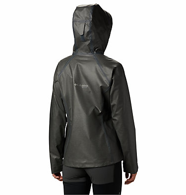 Women's OutDry Ex™ Reign™ Jacket OutDry Ex™ Reign™ Jacket | 030 | L, Charcoal Heather, back