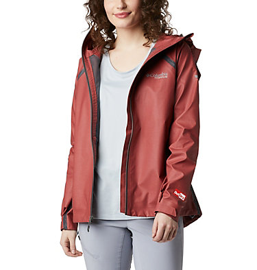 Women's OutDry Ex™ Reign™ Jacket OutDry Ex™ Reign™ Jacket | 030 | L, Dusty Crimson Heather, front