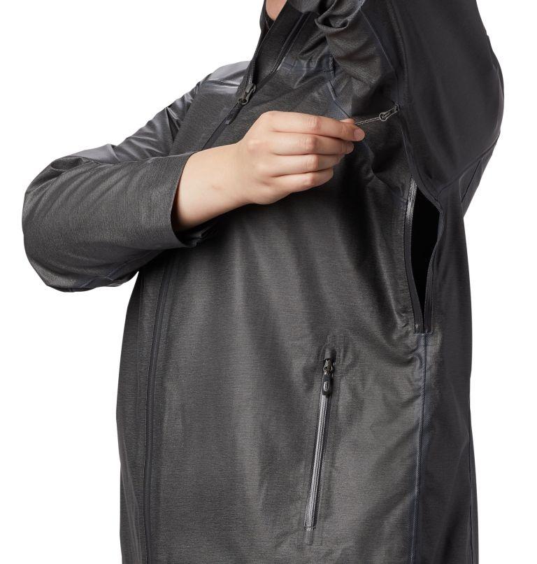 OutDry Ex™ Reign™ Jacket | 030 | 2X Manteau OutDry Ex Reign™ pour femme, Charcoal Heather, a4