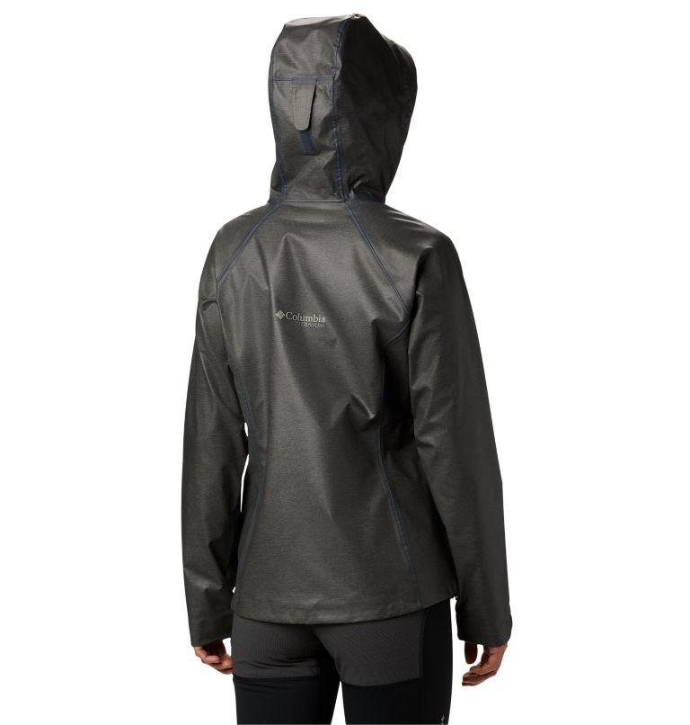 OutDry Ex™ Reign™ Jacket | 030 | 2X Manteau OutDry Ex Reign™ pour femme, Charcoal Heather, back