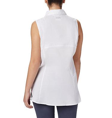 Women's Silver Ridge™ Lite Sleeveless Shirt Silver Ridge™ Lite Sleeveless | 544 | M, White, back