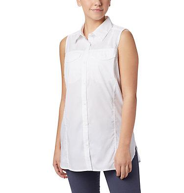 Women's Silver Ridge™ Lite Sleeveless Shirt Silver Ridge™ Lite Sleeveless | 490 | M, White, front