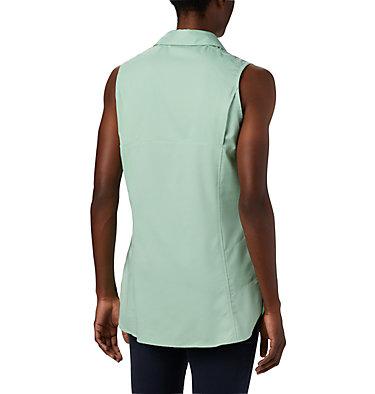 Women's Silver Ridge™ Lite Sleeveless Shirt Silver Ridge™ Lite Sleeveless | 490 | M, New Mint, back