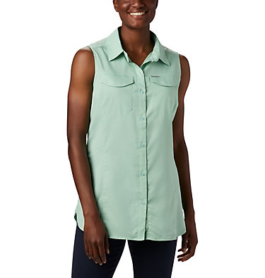 Women's Silver Ridge™ Lite Sleeveless Shirt Silver Ridge™ Lite Sleeveless | 490 | M, New Mint, front