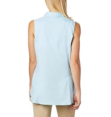 Women's Silver Ridge™ Lite Sleeveless Shirt Silver Ridge™ Lite Sleeveless | 490 | M, Spring Blue, back