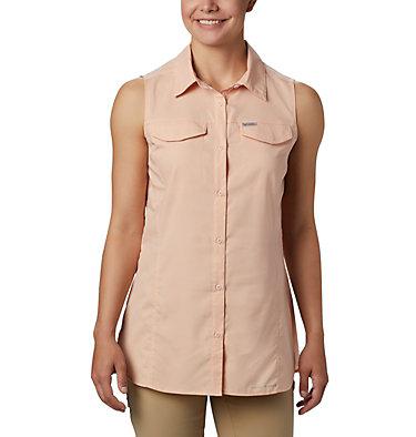 Women's Silver Ridge™ Lite Sleeveless Shirt Silver Ridge™ Lite Sleeveless | 490 | M, Peach Cloud, front