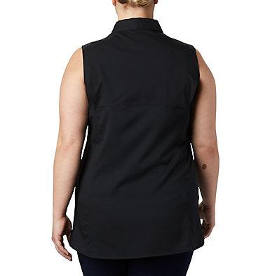 Chemise sans manches Silver Ridge™ Lite pour femme — Grandes tailles Silver Ridge™ Lite Sleeveless | 544 | 1X, Black, back