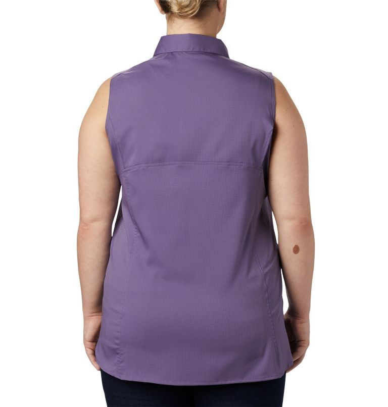 Women's Silver Ridge™ Lite Sleeveless Shirt - Plus Size Women's Silver Ridge™ Lite Sleeveless Shirt - Plus Size, back