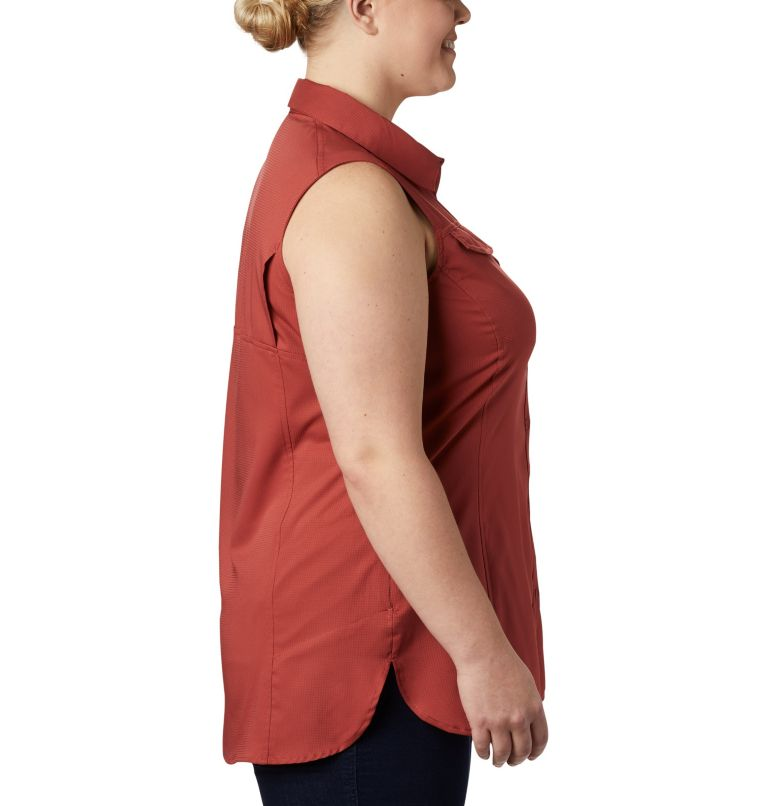 Women's Silver Ridge™ Lite Sleeveless Shirt - Plus Size Women's Silver Ridge™ Lite Sleeveless Shirt - Plus Size, a1