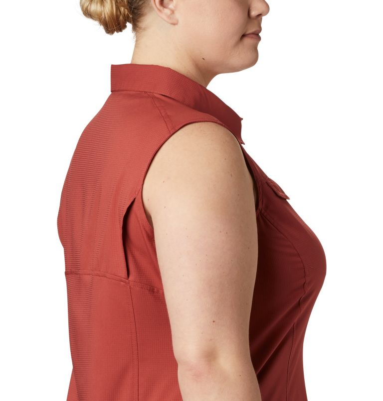 Women's Silver Ridge™ Lite Sleeveless Shirt - Plus Size Women's Silver Ridge™ Lite Sleeveless Shirt - Plus Size, a3