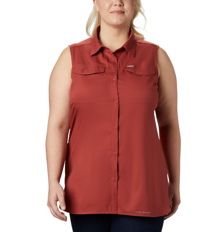Women's Silver Ridge™ Lite Sleeveless Shirt - Plus Size Women's Silver Ridge™ Lite Sleeveless Shirt - Plus Size, front