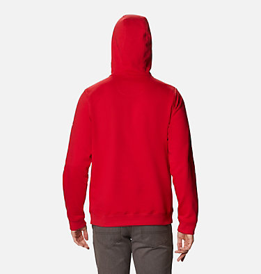 Men's Mount Mitchell™ Hoodie Mount Mitchell™ Hoodie | 473 | L, Mountain Red Stacked Gem Columbia, back
