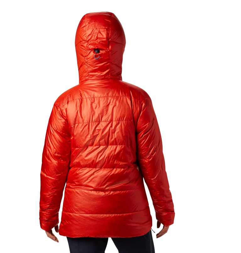 Phantom™ Parka | 636 | M Women's Phantom™ Down Hooded Parka, Fiery Red, back