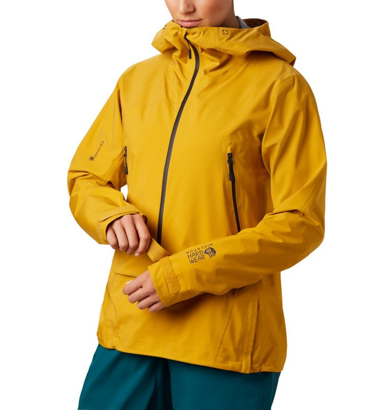 High Exposure™ Gore-Tex® C-Kni | 750 | XS Women's High Exposure™ Gore-Tex® C-Knit™ Anorak, Gold Hour, a1