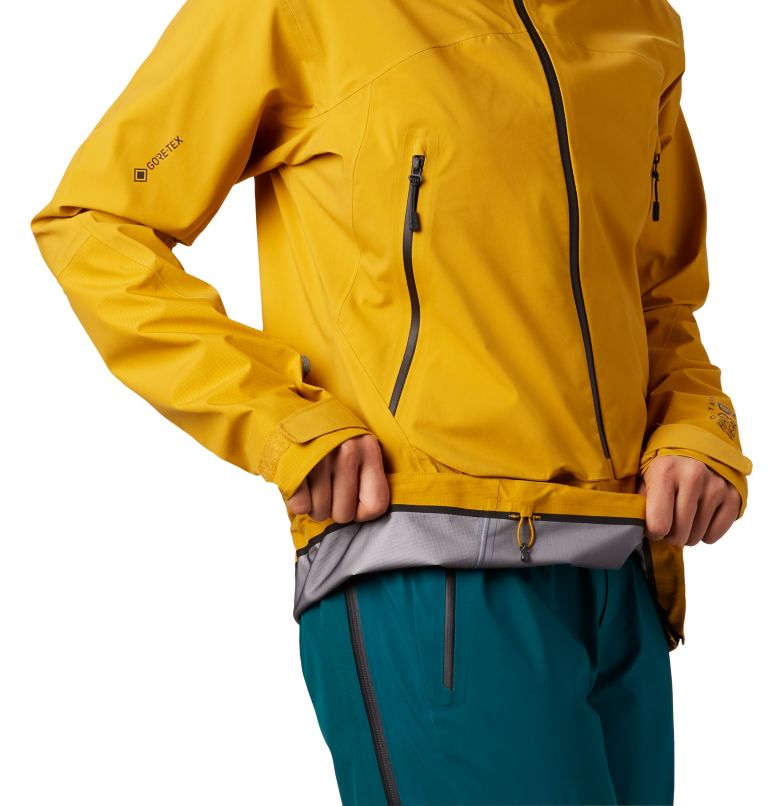High Exposure™ Gore-Tex® C-Kni | 750 | XS Women's High Exposure™ Gore-Tex® C-Knit™ Anorak, Gold Hour, a2