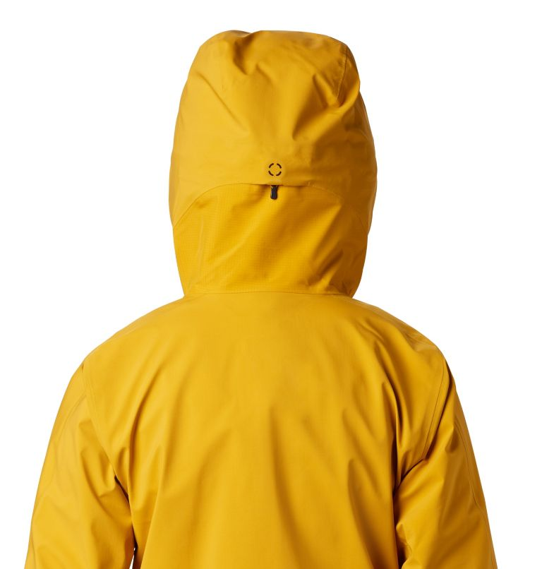 High Exposure™ Gore-Tex® C-Kni | 750 | XS Women's High Exposure™ Gore-Tex® C-Knit™ Anorak, Gold Hour, a3