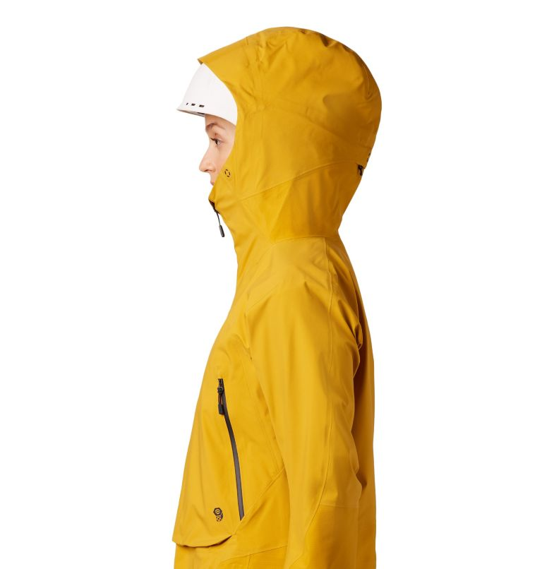 High Exposure™ Gore-Tex® C-Kni | 750 | XS Women's High Exposure™ Gore-Tex® C-Knit™ Anorak, Gold Hour, a5