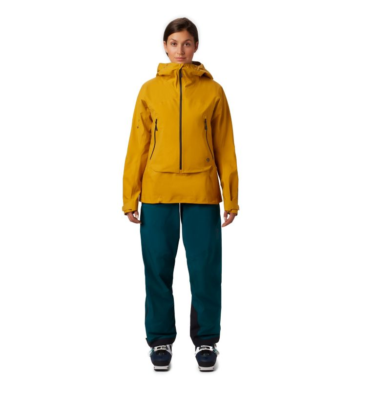 High Exposure™ Gore-Tex® C-Kni | 750 | XS Women's High Exposure™ Gore-Tex® C-Knit™ Anorak, Gold Hour, a6