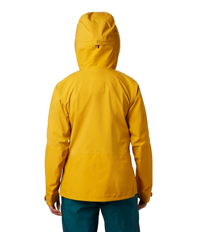 High Exposure™ Gore-Tex® C-Kni | 750 | XS Women's High Exposure™ Gore-Tex® C-Knit™ Anorak, Gold Hour, back